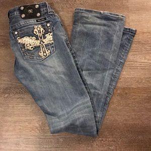 Size 28 Miss Me Jeans